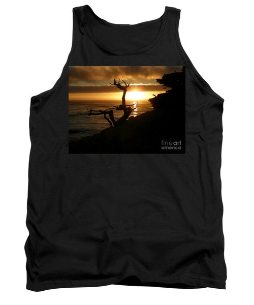 Ghost Tree At Sunset Tank Top