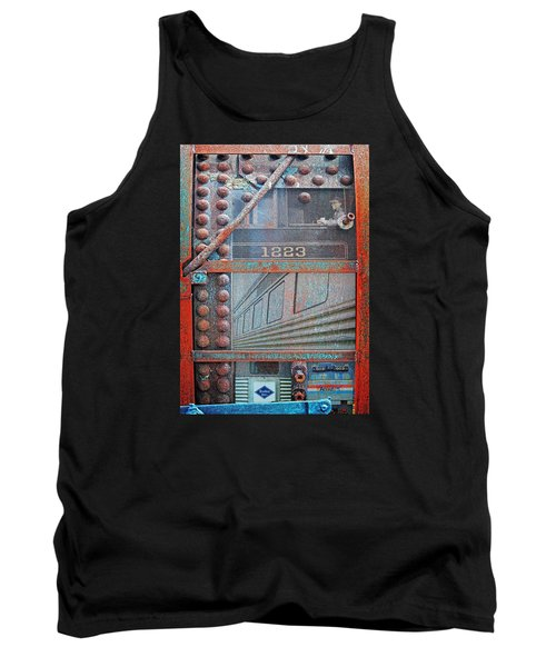Ghosts Of The Railroad Tank Top by Joseph J Stevens