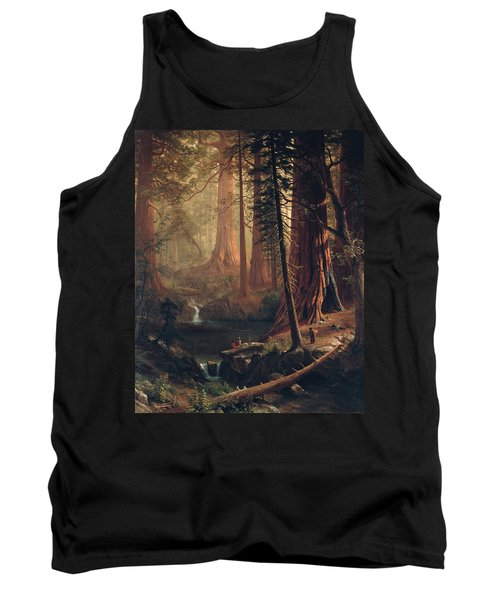 Giant Redwood Trees Of California Tank Top