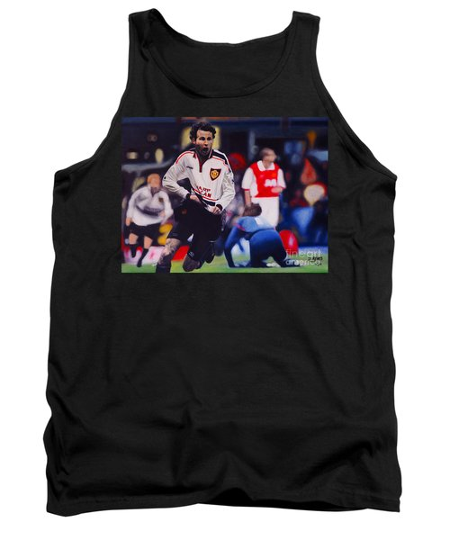 Giggs Goal V Arsenal Oil On Canvas Tank Top