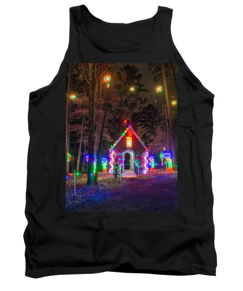 Ginger Bread House Tank Top