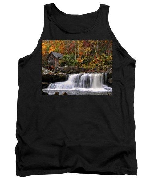 Glade Creek Grist Mill - Photo Tank Top