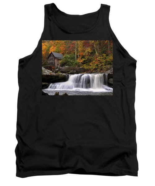 Glade Creek Grist Mill - Photo Tank Top