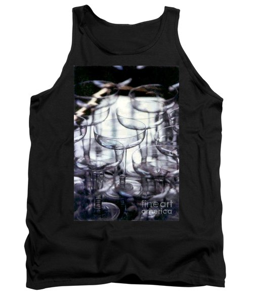 Tank Top featuring the photograph New Orleans Toast To The New Year 2017 Abstract by Michael Hoard