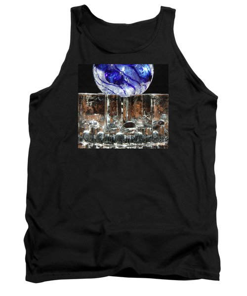 Glass On Glass Tank Top by Jolanta Anna Karolska