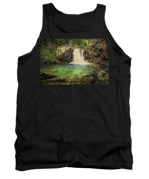 Tank Top featuring the photograph Glory Pool by Priscilla Burgers