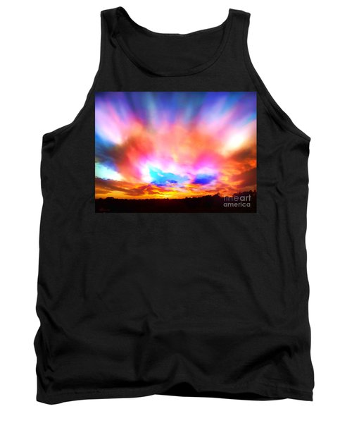 Glory Sunset Tank Top by Patricia L Davidson