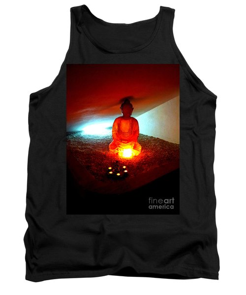 Glowing Buddha Tank Top