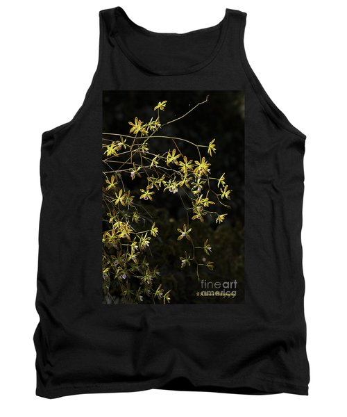 Glowing Orchids Tank Top
