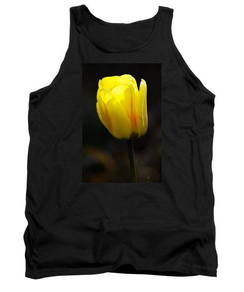 Glowing Tulip Tank Top by Shelly Gunderson