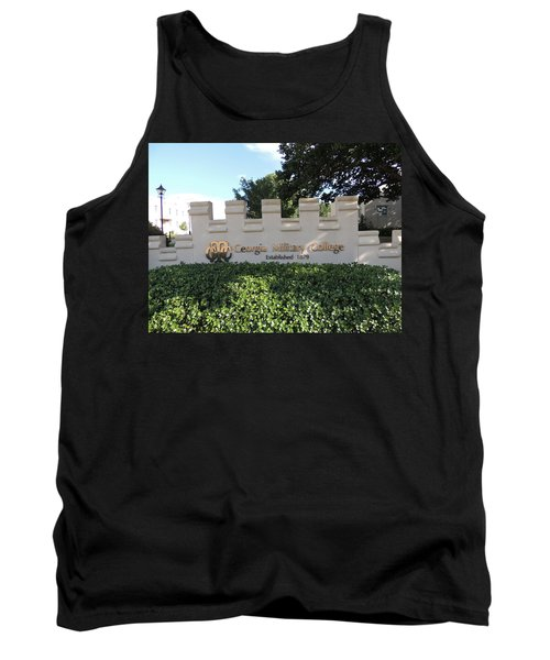 Tank Top featuring the photograph Gmc Milledgeville by Aaron Martens