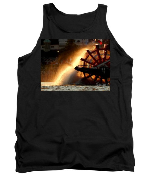 New Orleans Steamboat Natchez On The Mississippi River Tank Top by Michael Hoard