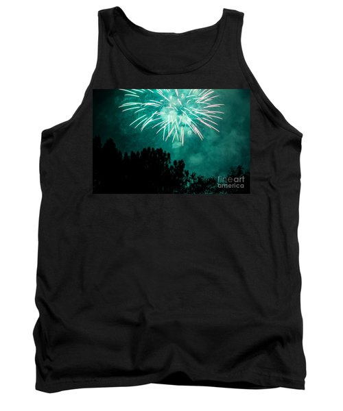 Tank Top featuring the photograph Go Green by Suzanne Luft