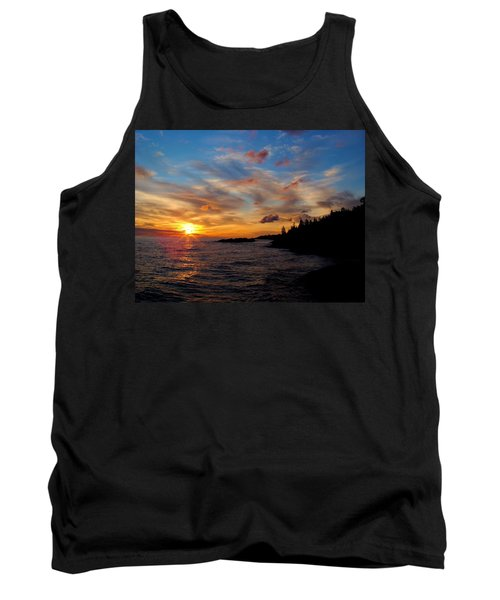 Tank Top featuring the photograph God's Morning Painting by Bonfire Photography