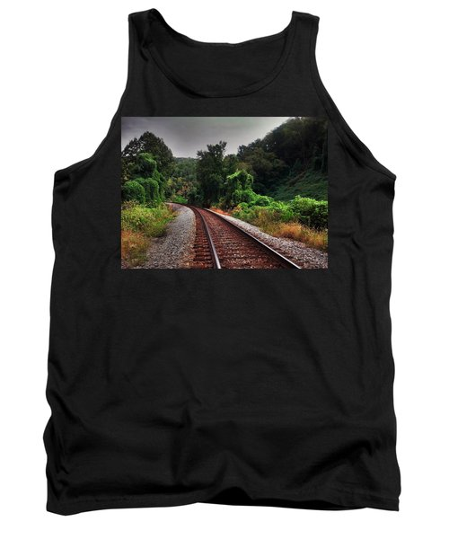 Tank Top featuring the photograph Going Somewhere by Janice Spivey