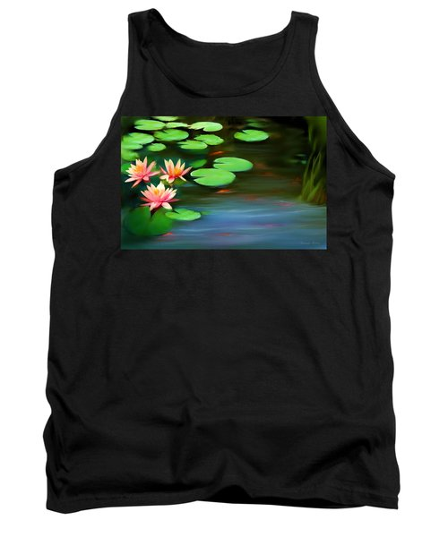 Gold Fish Pond Tank Top