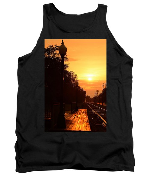 Golden Age Of Rails Tank Top