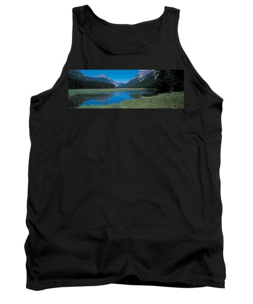Golden British Columbia Canada Tank Top