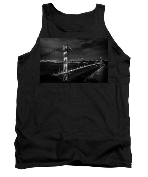 Golden Gate Evening- Mono Tank Top by Linda Villers