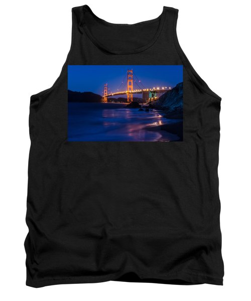 Golden Gate Glow Tank Top