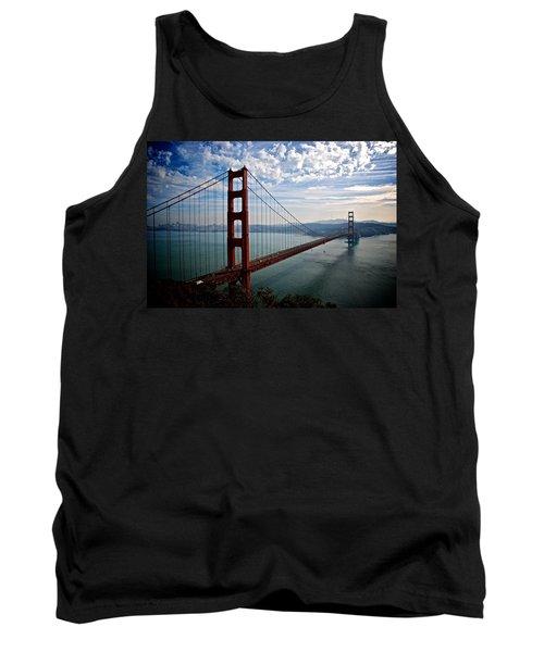 Golden Gate Open Tank Top by Eric Tressler