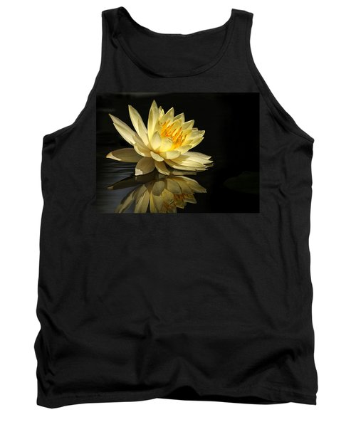 Golden Lotus Tank Top