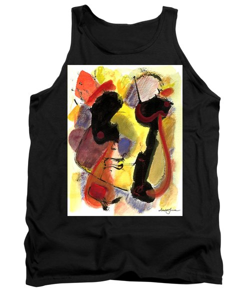 Golden Moon 2 Tank Top