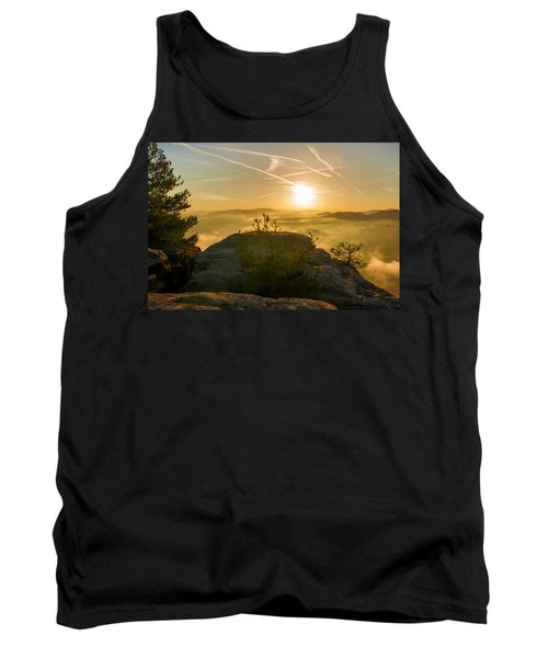 Golden Morning On The Lilienstein Tank Top