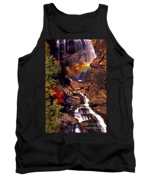 Golden Rainbow Tank Top by Paul W Faust -  Impressions of Light