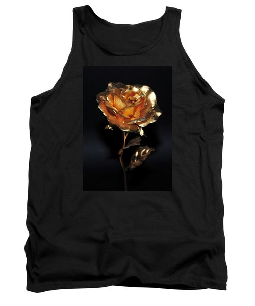 Golden Rose Tank Top