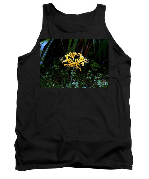 Golden Spider Lily Tank Top