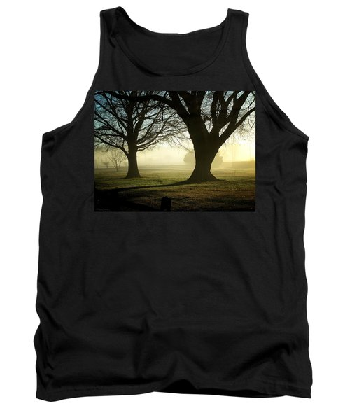 Tank Top featuring the photograph Golden Sunrise by Greg Simmons