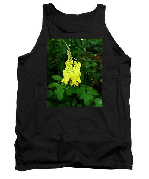 Tank Top featuring the photograph Golden Tears Vine by William Tanneberger