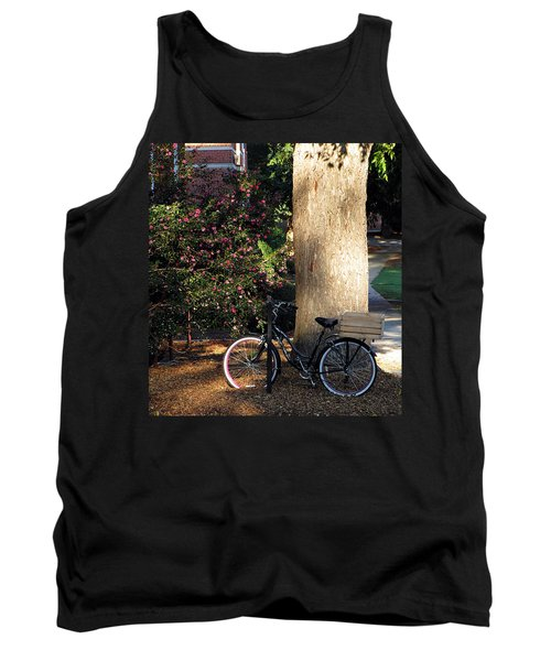 Tank Top featuring the photograph Gone To Class by Greg Simmons