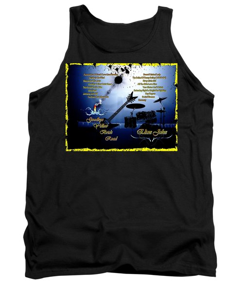 Goodbye Yellow Brick Road Tank Top by Michael Damiani