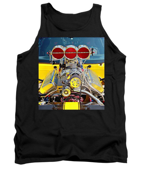 Tank Top featuring the photograph 1000 Hp Pro Street Z28 by Aaron Berg