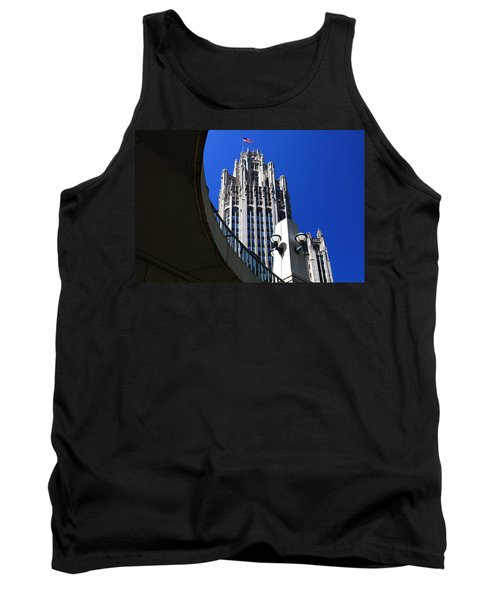 Gothic Tribune Tower Curve Tank Top
