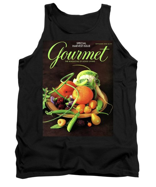 Gourmet Cover Featuring A Variety Of Fruit Tank Top