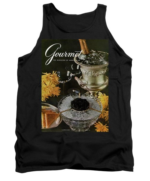 Gourmet Cover Featuring A Wine Cooler Tank Top
