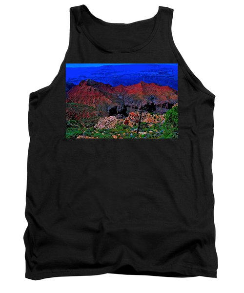 Grand Canyon Beauty Exposed Tank Top by Jim Hogg