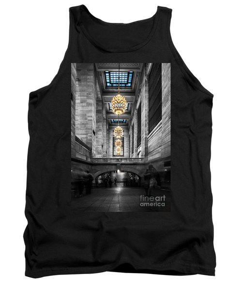 Grand Central Station IIi Ck Tank Top by Hannes Cmarits