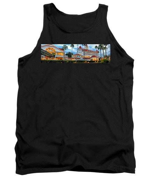 Grand Floridian Resort Walt Disney World Tank Top by Thomas Woolworth