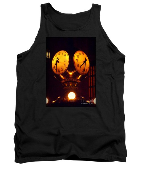 Grand Old Clock - Grand Central Station New York Tank Top