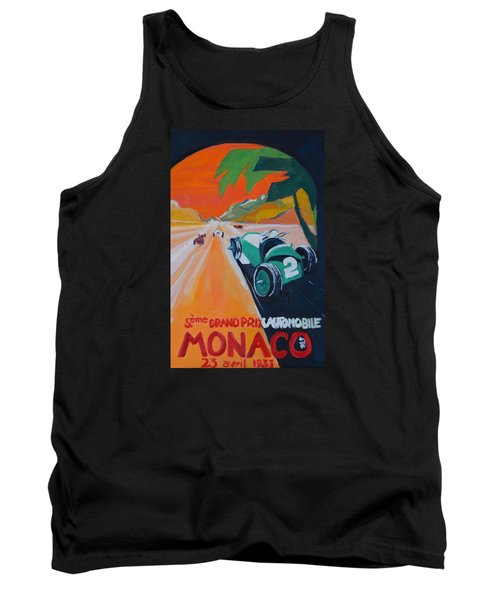Tank Top featuring the painting Grand Prix by Julie Todd-Cundiff