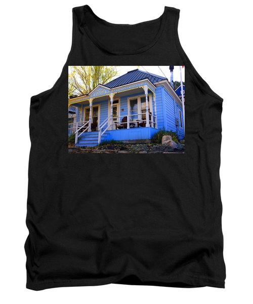 Tank Top featuring the photograph Grandma's House by Jackie Carpenter