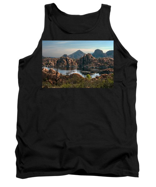 Granite Dells At Watson Lake Tank Top