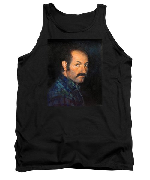 Tank Top featuring the painting Grant by Donna Tucker