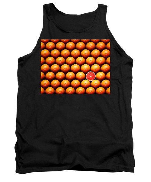 Grapefruit Slice Between Group Tank Top