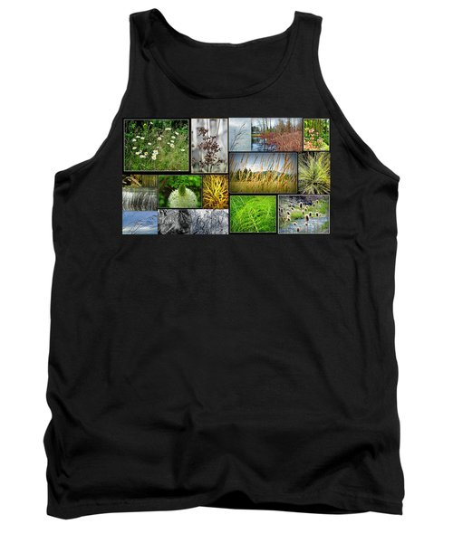 Grass Collage Variety Tank Top