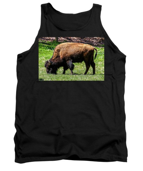 Tank Top featuring the photograph Grazing In The Grass by Robert L Jackson